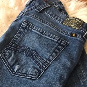 Lucky Brand Jeans - LUCKY  sweet N Low Leslie jeans size 4/27